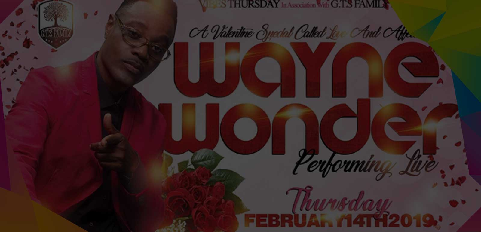 WAYNE WONDER PERFORMING LIVE